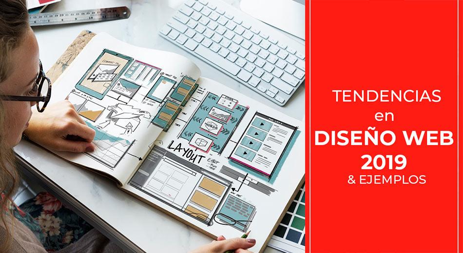 Tendencias en Diseño Web 2019 + ejemplos