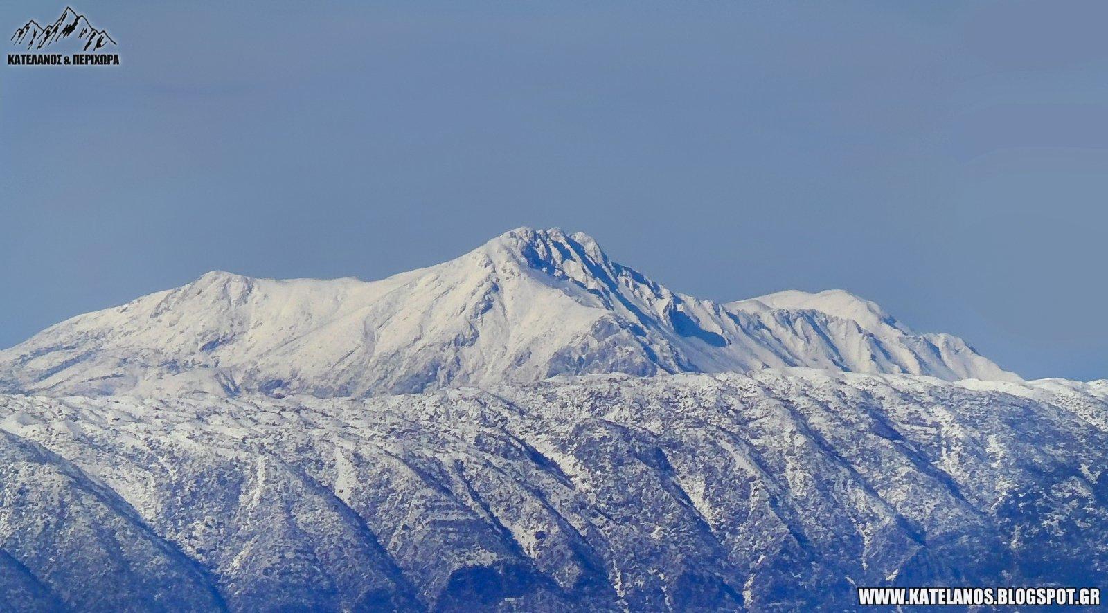 τομαρος βουνο ολυτσικα χιονια