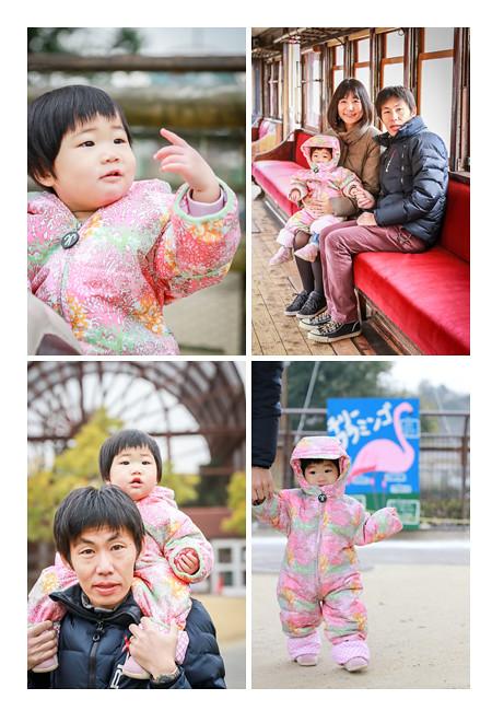 鞍ヶ池(愛知県豊田市)で家族写真のロケーション撮影