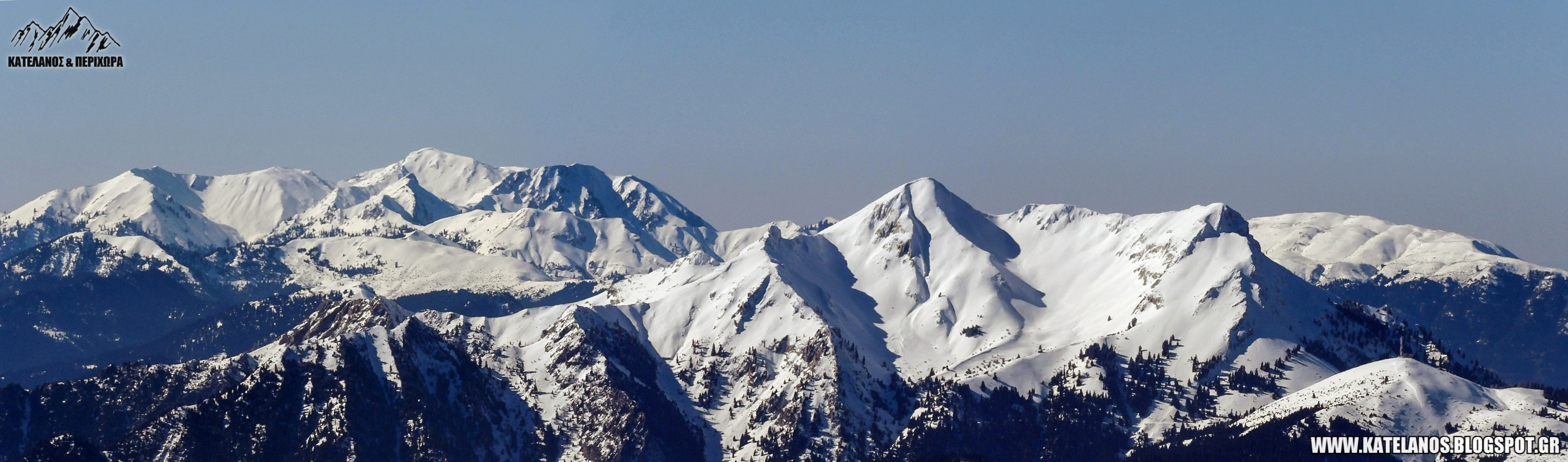 χελιδόνα και κατελάνος βουνά