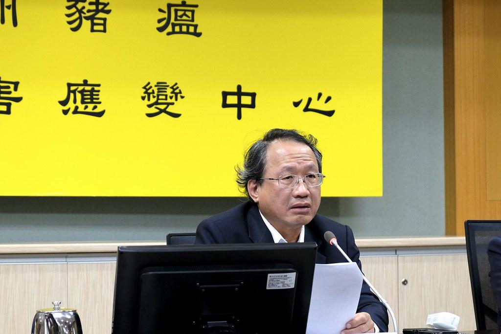 農委會副主委黃金城表示,會盡快要求各縣市處理提出再利用檢核的廚餘養豬戶。攝影/ 謝佩穎