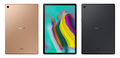 Available in monochromatic colours that include Silver, Black and Gold, the Galaxy Tab S5e will be launched in Singapore from Q2 2019 in Black and Gold.