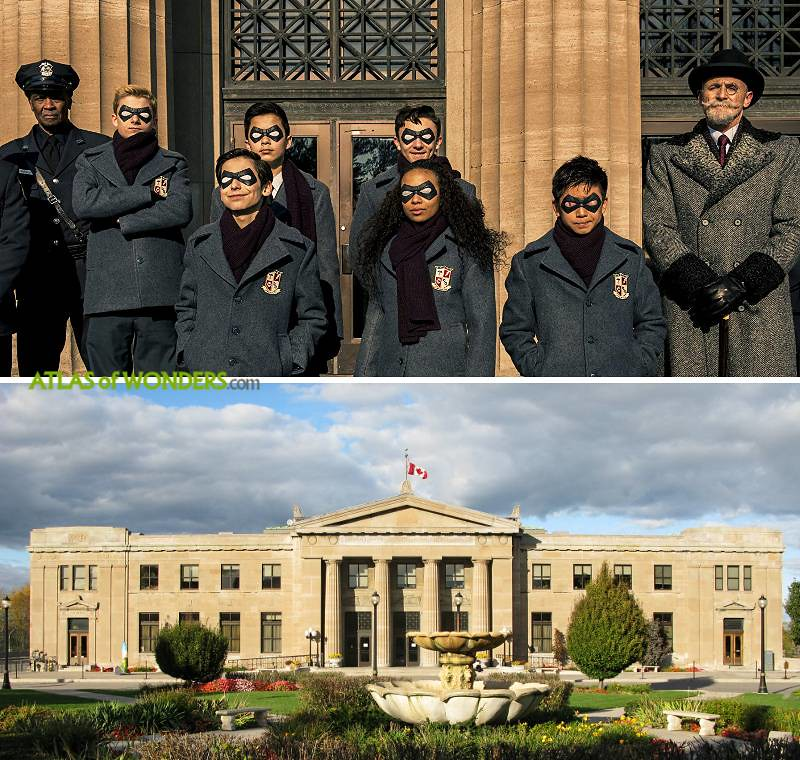 Umbrella Academy filming location