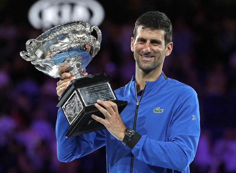 Novak Djokovic澳網奪冠。(達志影像)
