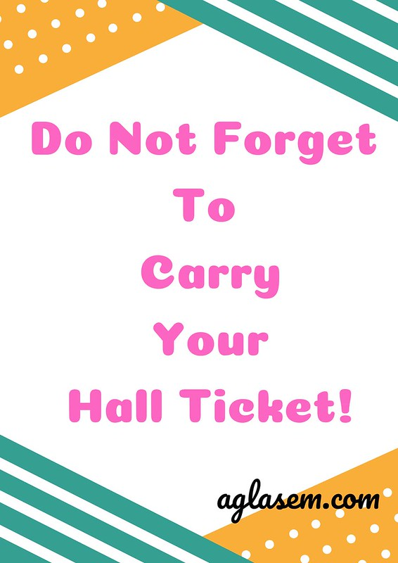 APOSS SSC Hall Ticket April 2019