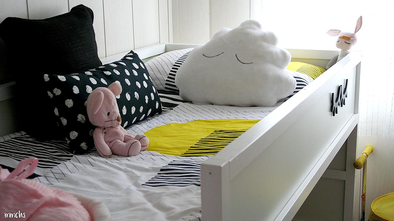 Fundas nórdicas cañeras para una habitación infantil