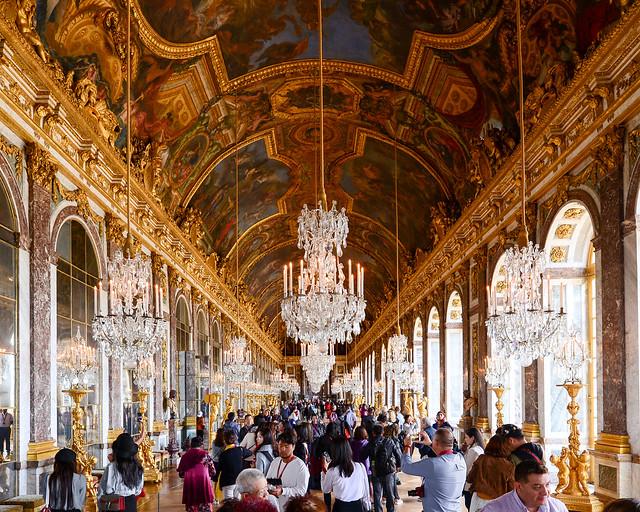 Sala de los espejos de Versalles