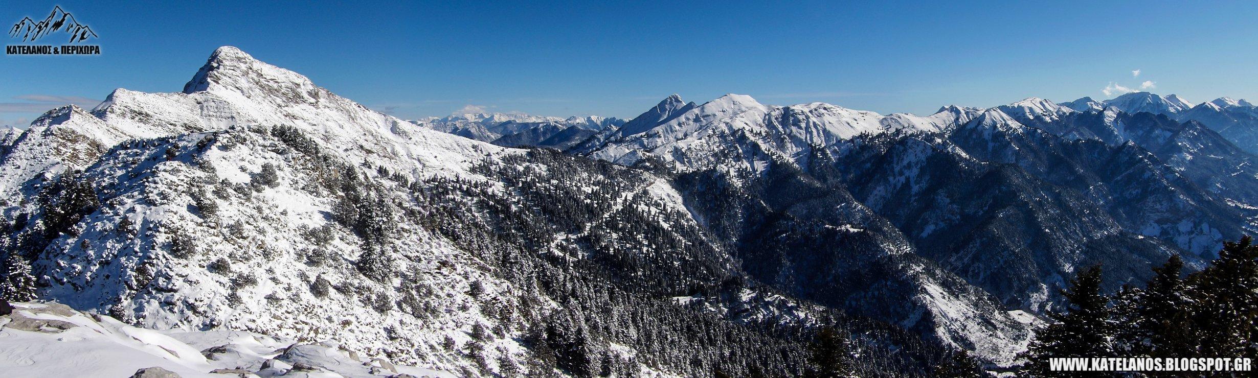 παναιτωλικο ορος οροσειρα