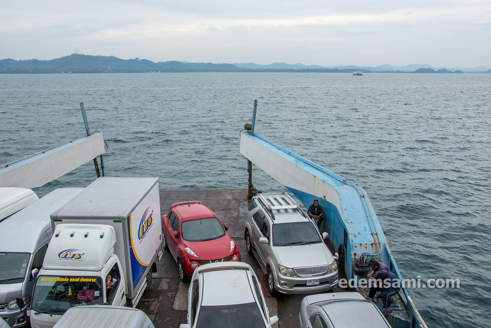 Автомобильный паром на Ко Чанг