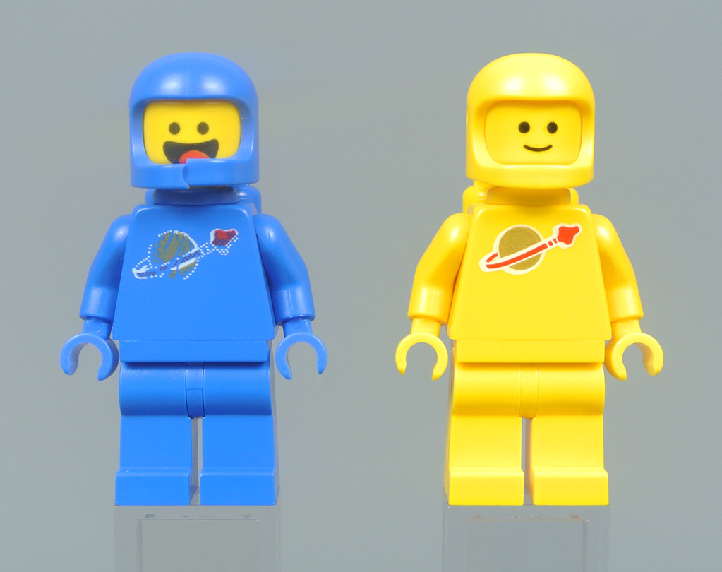 Minifigure Display Frame Lego Movie 2 Benny/'s Space Squad 70841 minifigs figures