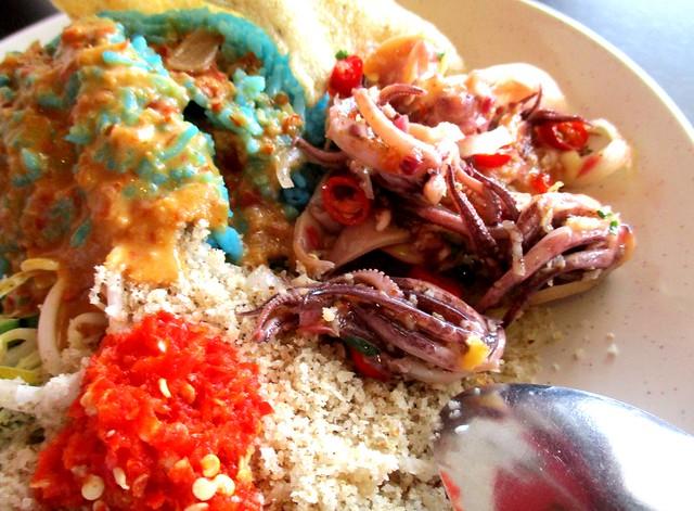 La'zzaty Cuisine sotong kerabu