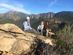 La pause au-dessus de la vallée