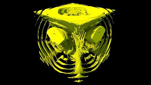 3D Gravity Set Fractal