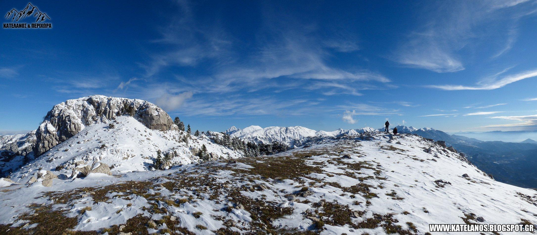 ανω αγιος βλασιος αιτωλοακαρνανιας βουνα χιονια προφητης ηλιας