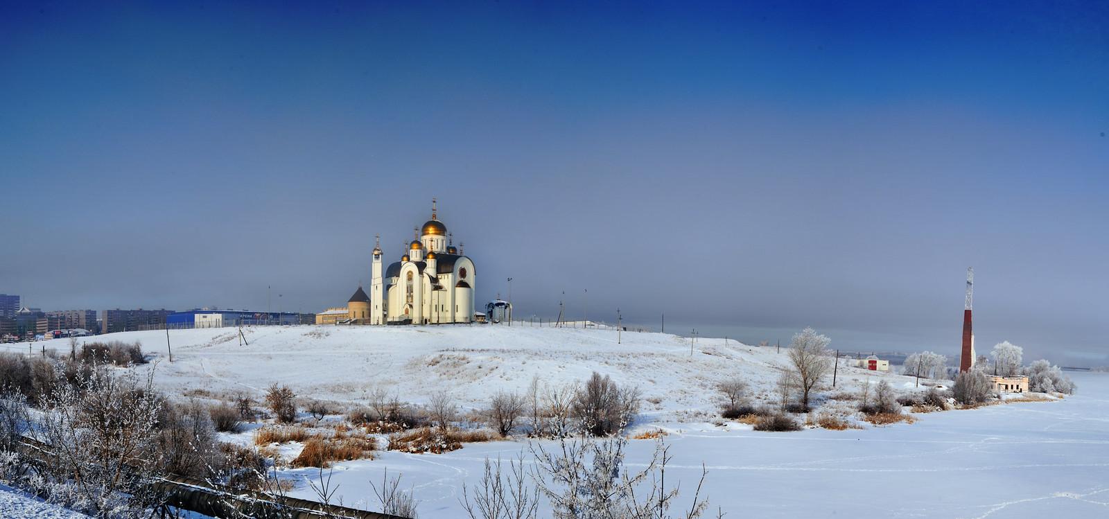 фотограф Челябинск - Магнитогорск Храм Вознесения