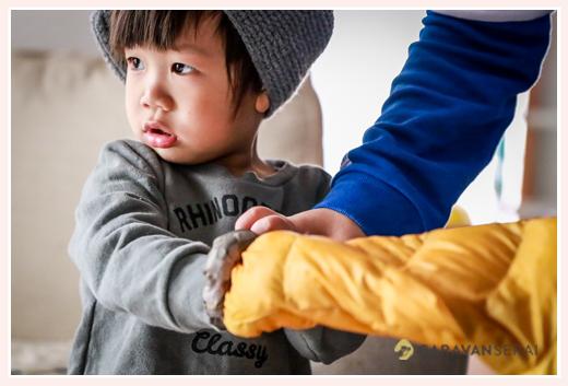2歳の男の子 カッコイイ系 シブい