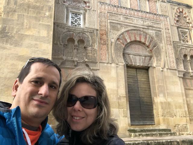 Sele y Rebeca en Córdoba
