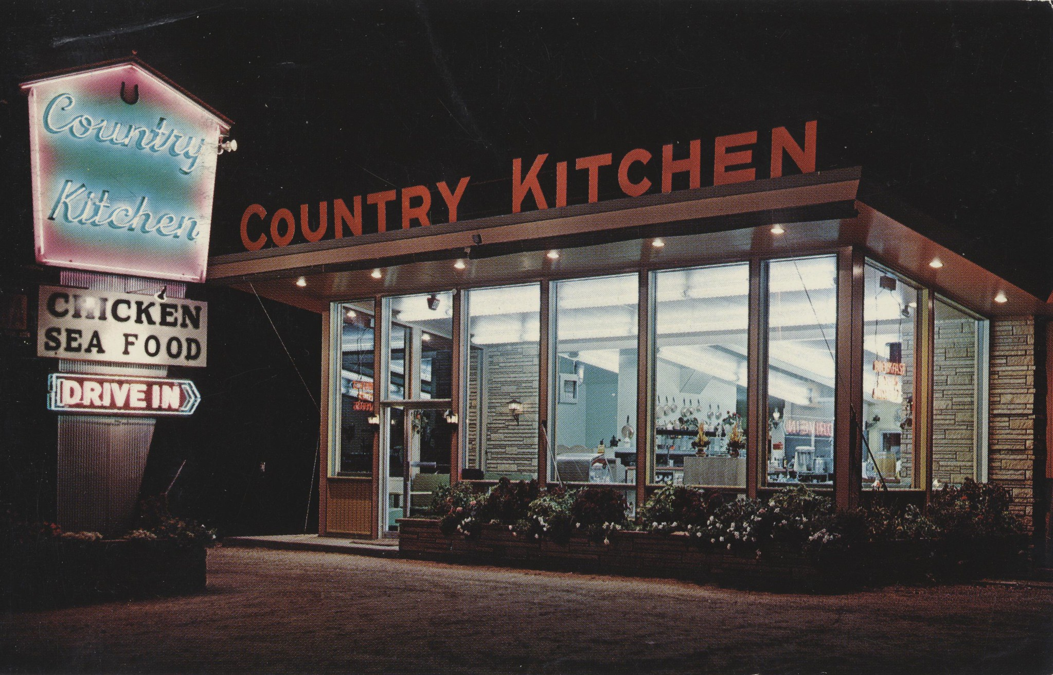 Country Kitchen - Wisconsin Dells, Wisconsin U.S.A. - 1969