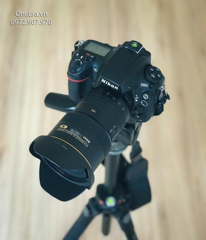 Nikon D800 + Lens wide Nikon 16-35 VR Nano