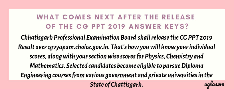 cg ppt 2019 answer key
