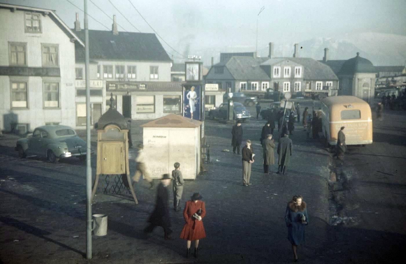 1943-44. Американцы в Исландии