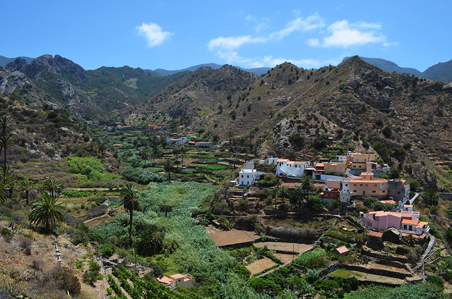 Above Vallehermoso, La Gomera, Canary Islands