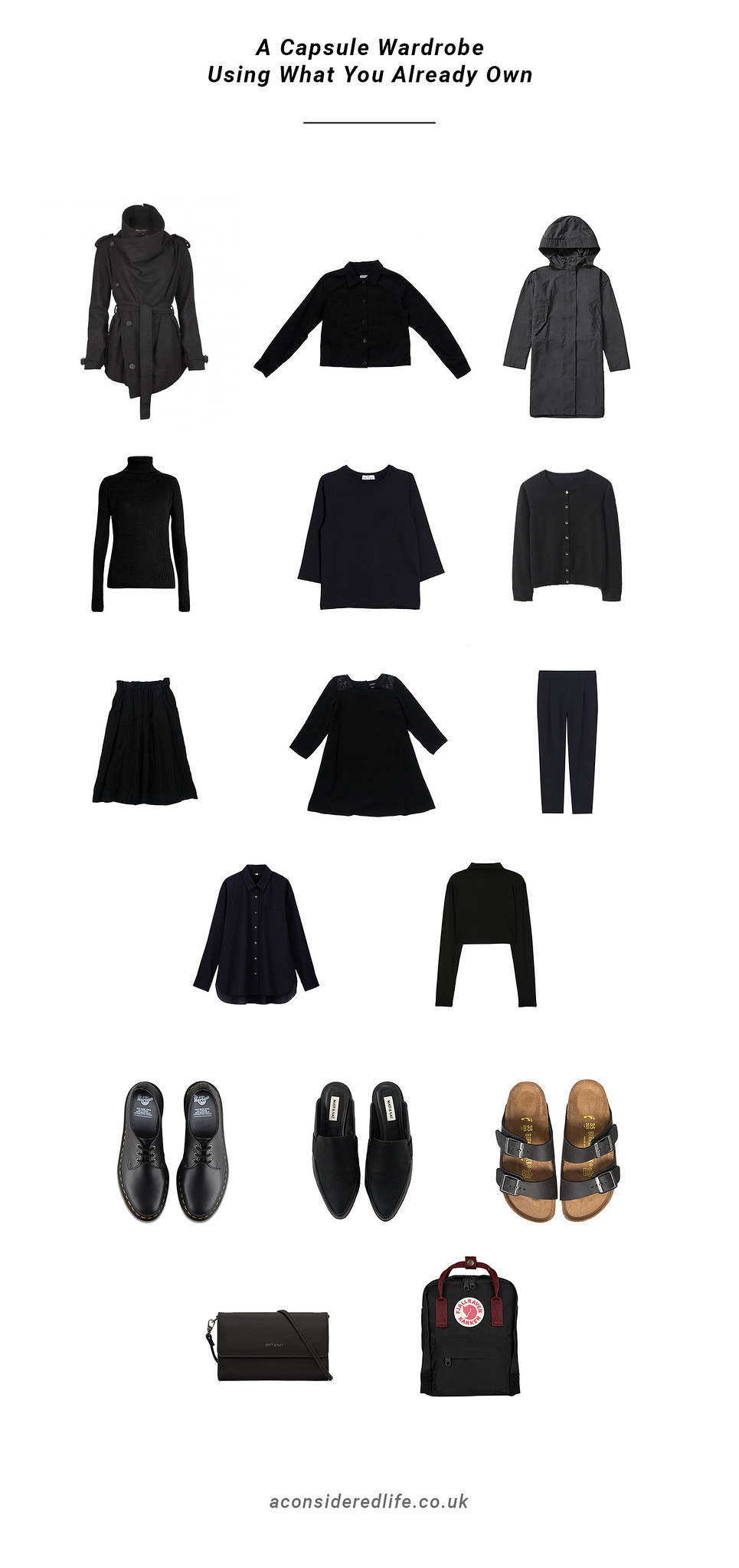 Making A Capsule Wardrobe (Using What You Already Own)