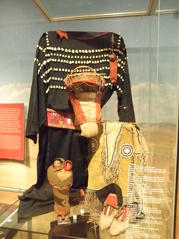 dress with cowrie shells