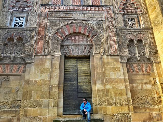 Una de las puertas de la Mezquita de Córdoba