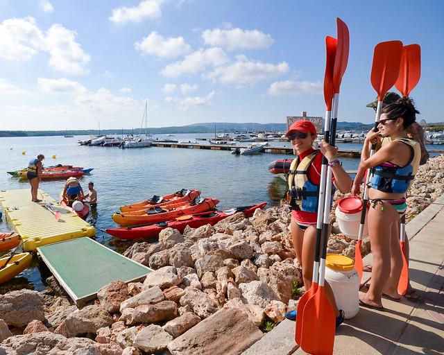 Kayak por Menorca