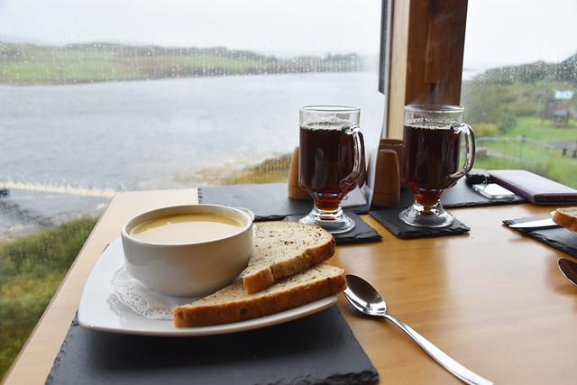 Pumpkin soup, Skye