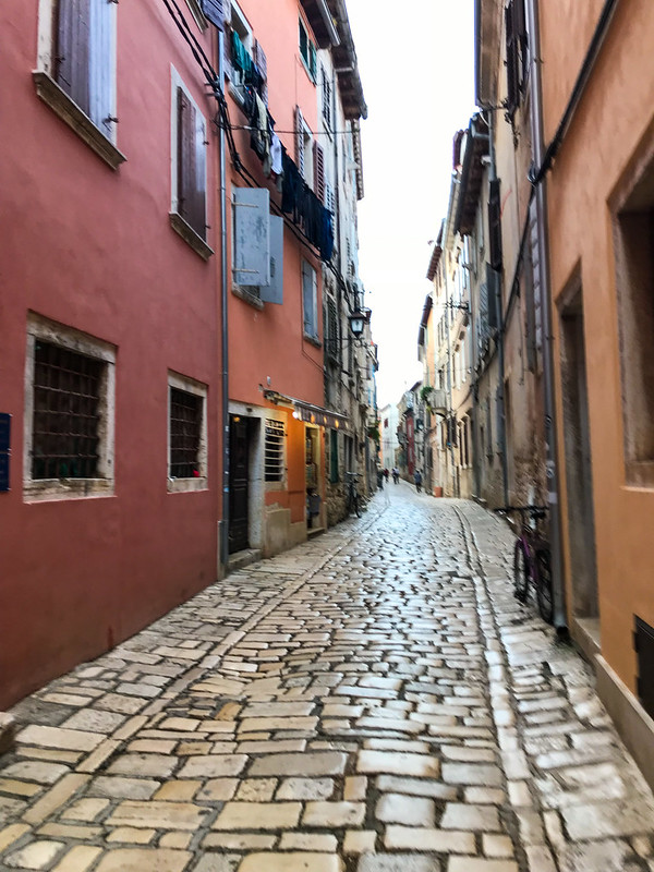 Small streets of Rovinj
