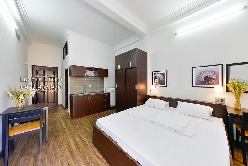 rộng rãi căn hộ cho thuê AirBnB quận 3
