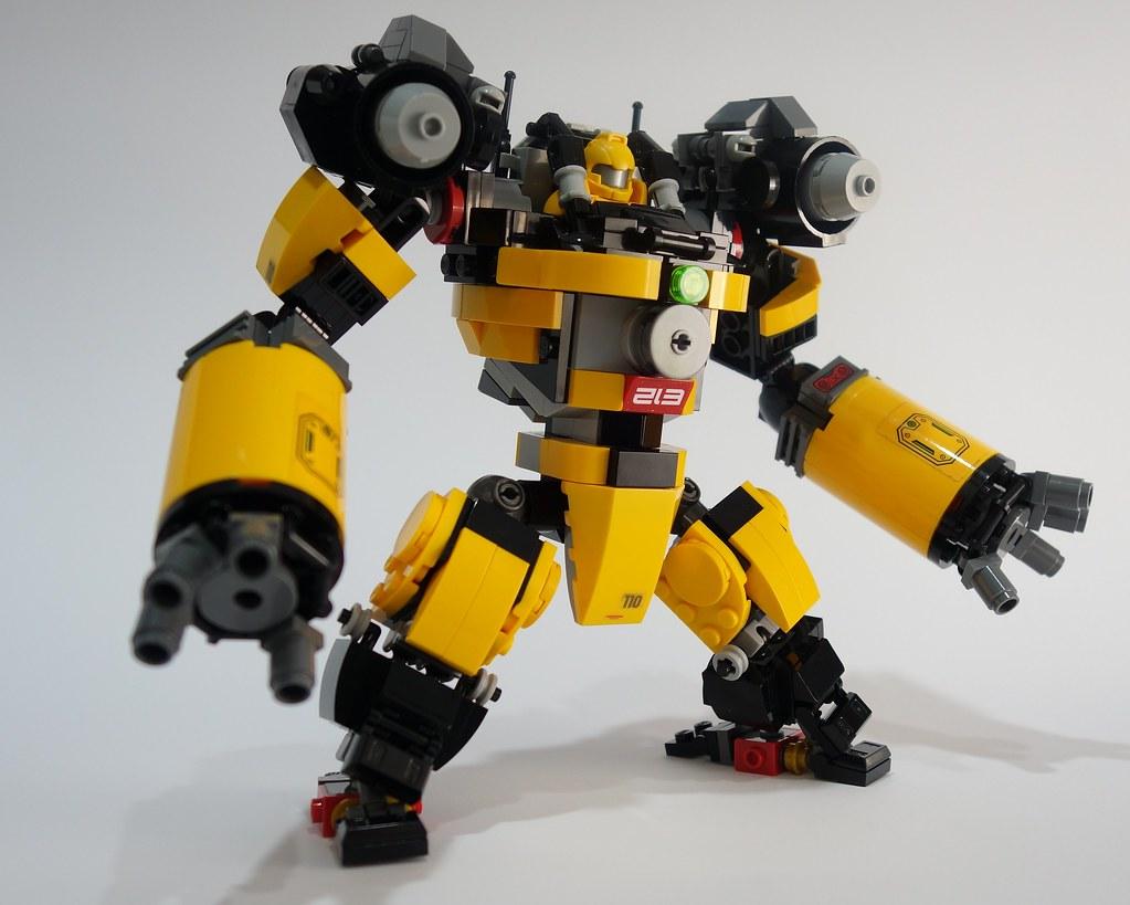 Ajax Miner Mech Suit 1