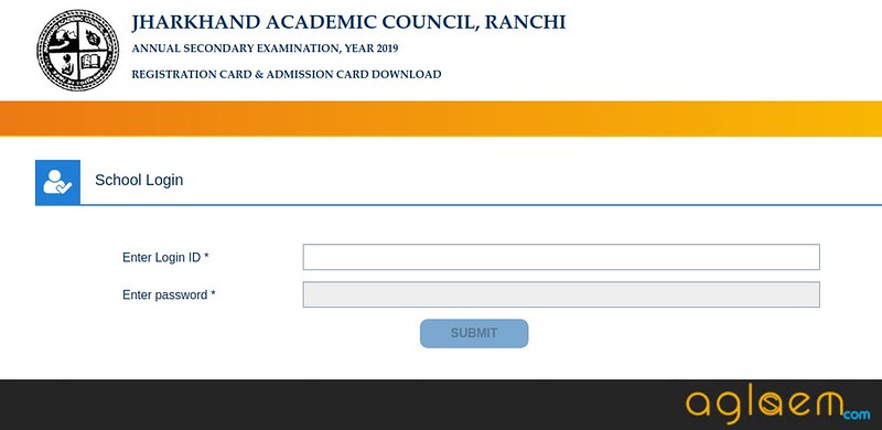 JAC 10th Admit Card 2019