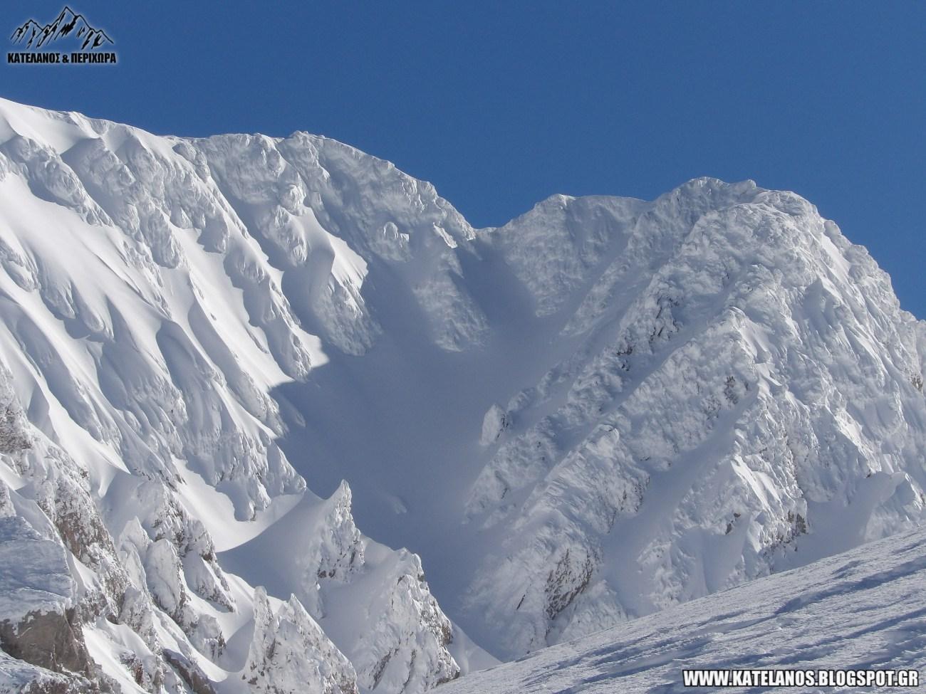 ψηλη κορυφη βελουχι τυμφρηστός ευρυτανια χιονια