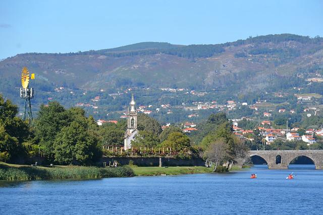 River Lima, Minho, Portugal