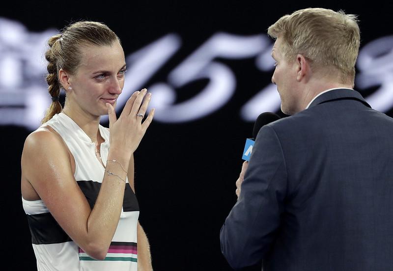 Petra Kvitova澳網居亞。(達志影像資料照)