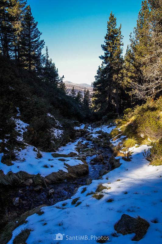 Arroyo de Artarán en Plateau de Beille