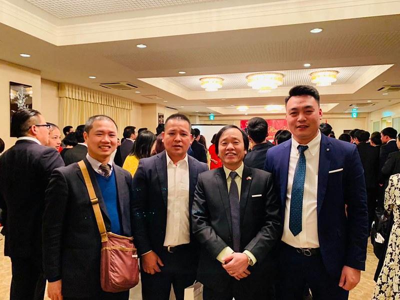 Cựu hướng dẫn viên tiếng nhật Hà Nội sống và làm việc ở Nhật cùng dự tiệc vui xuân đón năm mới Kỷ Hợi 2019 cùng ngài đại sứ Việt Nam 26/1