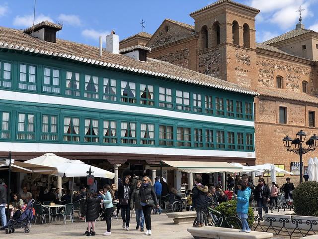 Plaza Mayor de Almagro (Campo de Calatrava, Ciudad Real)
