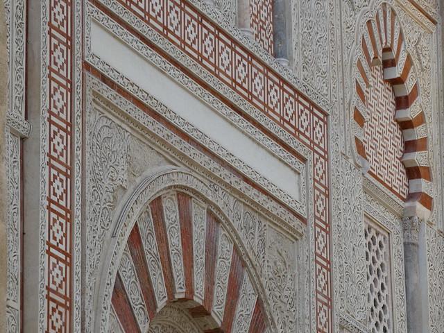 Detalle de la Mezquita de Córdoba