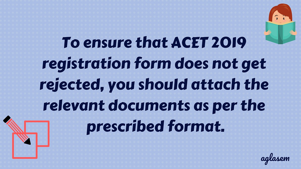 ACET registration form 2019