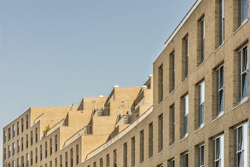 Студенческое общежитие в Амстердаме. Проект Studioninedots