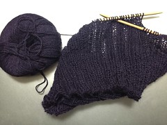 Cowl in Progress