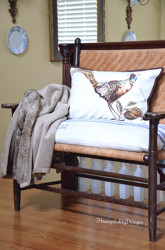 Vintage Bench - French Country - Housepitality Designs