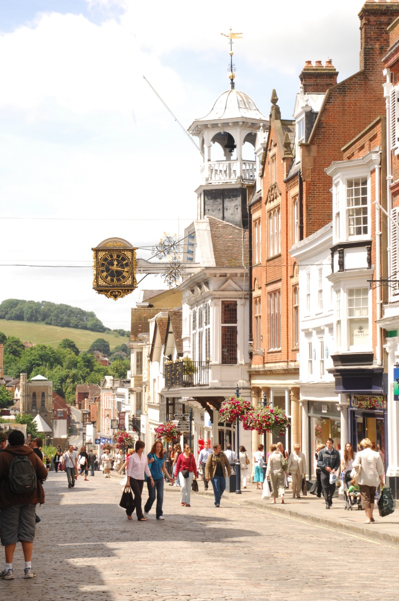Guildford High Street Surrey