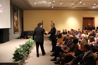 2012 Urbino Press Award to Sebastian Rotella of ProPublica | by Embassy of Italy in the US