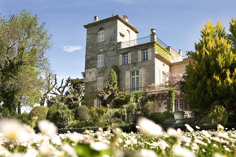 Вилла Кристиана Диора La Colle Noire во Франции