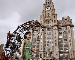 Giant Girl in Liverpool | by floato